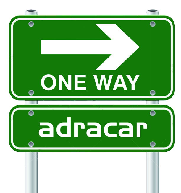 One-way adracar